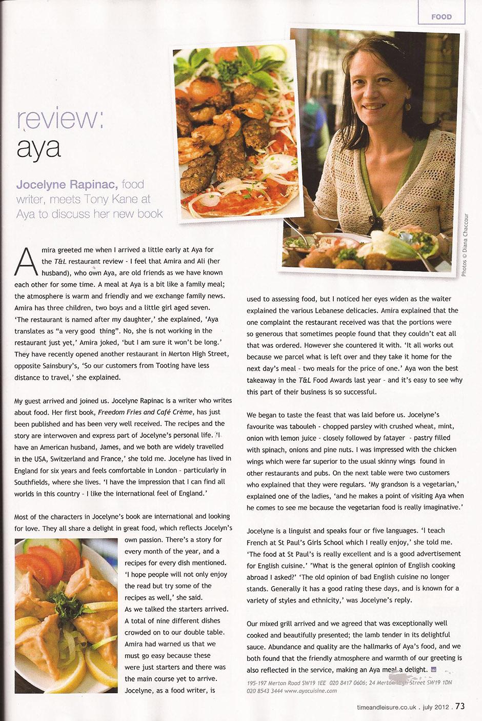 Review: AYA