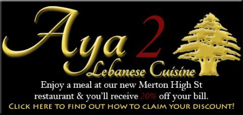Eat at Aya 2 Receive Discount