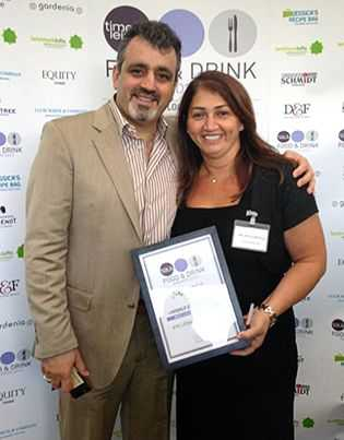 Aya: Food & Drink Awards 2013 Winner
