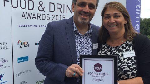 Time & Leisure Food Awards 2015