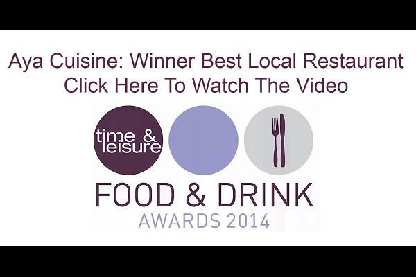 Time & Leisure Food & Drink Awards 2014 Video