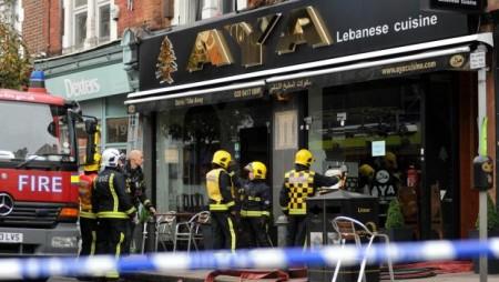 Aya Restaurant Fire