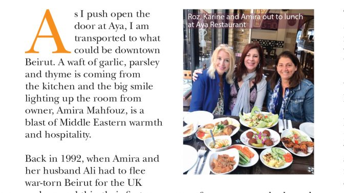 Darling Magazine Review: The Full Lebanese Experience At Aya