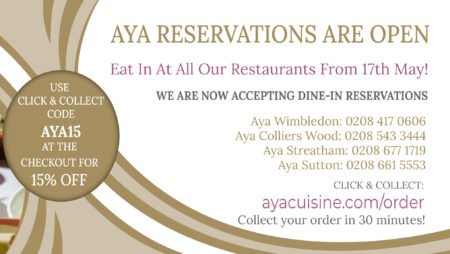Dine-In Reservations Are Now Open!